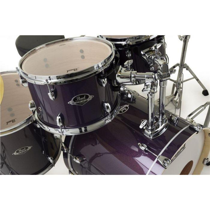 Pearl Export 22 5Pc Kit Purple Nebula Tom Holder