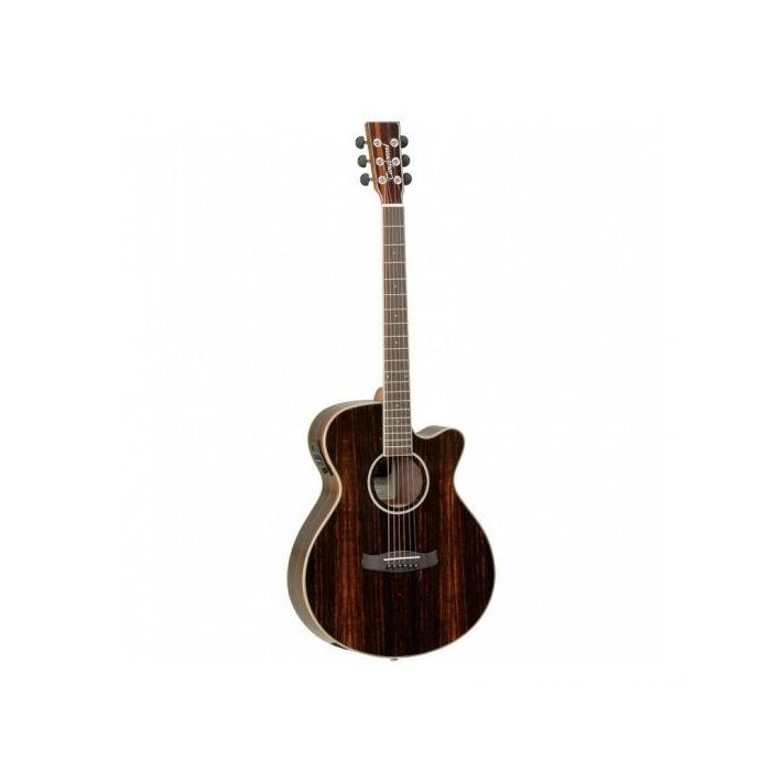 Overview of the Tanglewood DBT SFCE AEB Discovery Folk Electro Acoustic Ebony