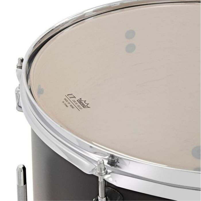 Remo drum skin on a Pearl Decade Maple Fusion tom
