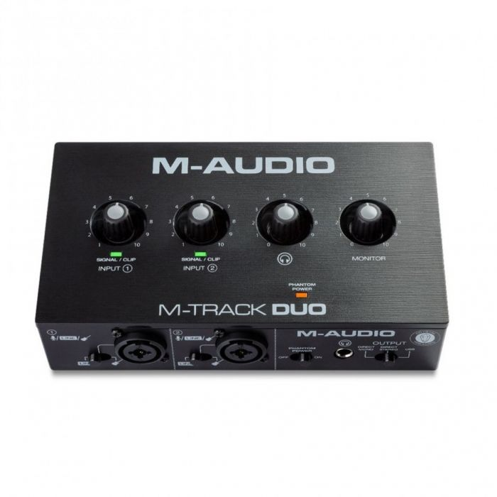 M-Audio M-Track Duo 2-channel USB Audio Interface Front
