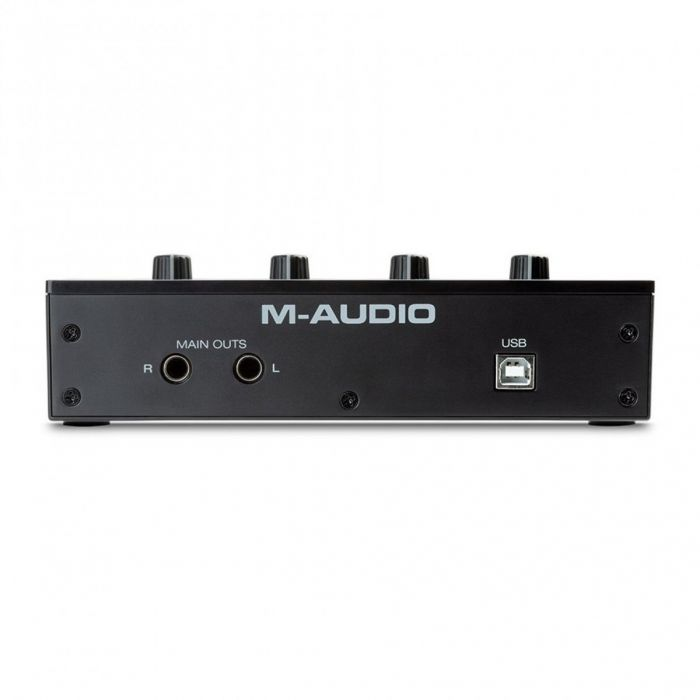 M-Audio M-Track Duo 2-channel USB Audio Interface Back