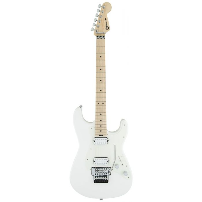 B-Stock Charvel Pro-Mod So-Cal Style 1 HH FR M MN Snow White frotn view