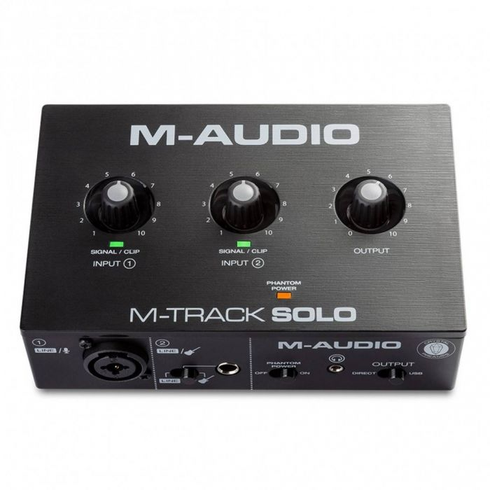 Ovevriew of the M-Audio M-Track Solo 2-channel USB Audio Interface