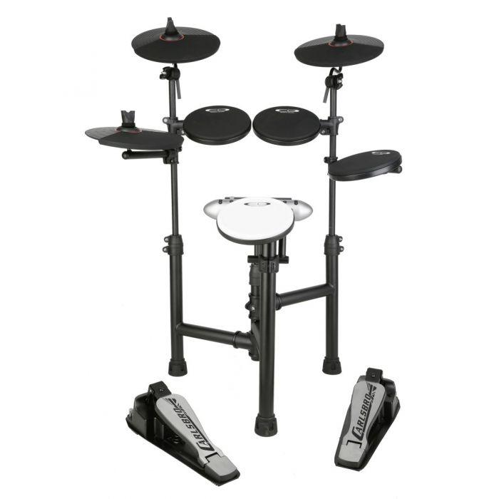 Carlsbro CSD120 8-Piece Electronic Drum Kit Front View