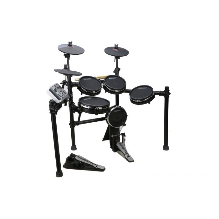 Carlsbro CSD400 Electronic Mesh Head Drum Kit Left Front View