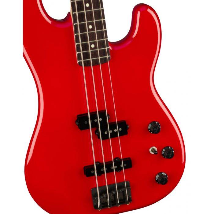 Fender Boxer PJ Bass RW Torino Red Detail