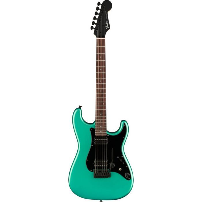 Overview of the Fender Boxer Series Stratocaster HH RW Sherwood Green Metallic