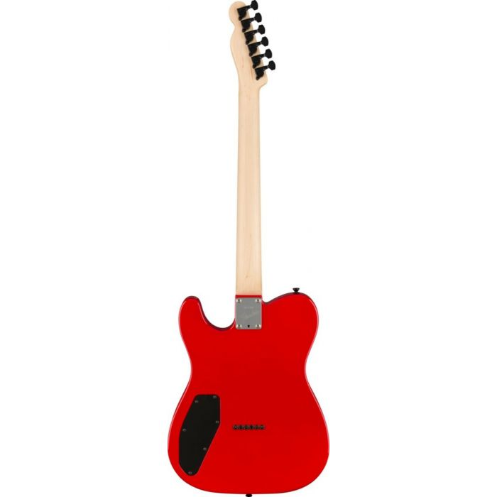 Back view of the Fender Boxer Series Telecaster HH RW Torino Red