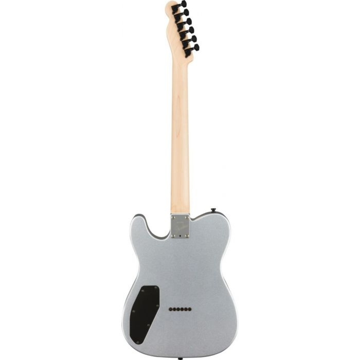 Back shot of the Fender Boxer Series Telecaster HH RW Inca Silver