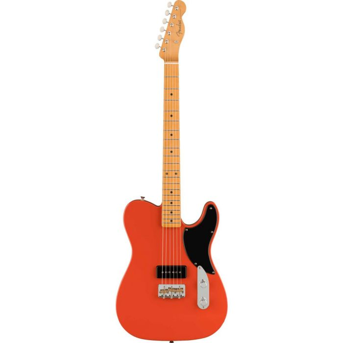 Overview of the Fender Noventa Telecaster MN Fiesta Red