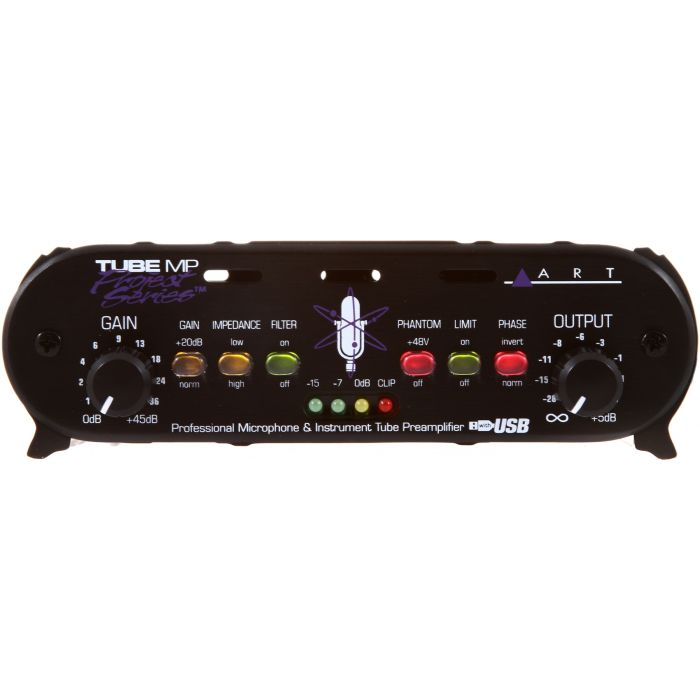 ART TubeMP USB Preamp Front