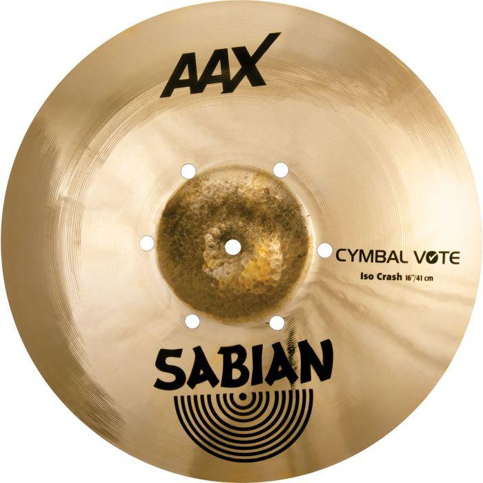 """Sabian AAX 16"""" ISO Crash Cymbal"""