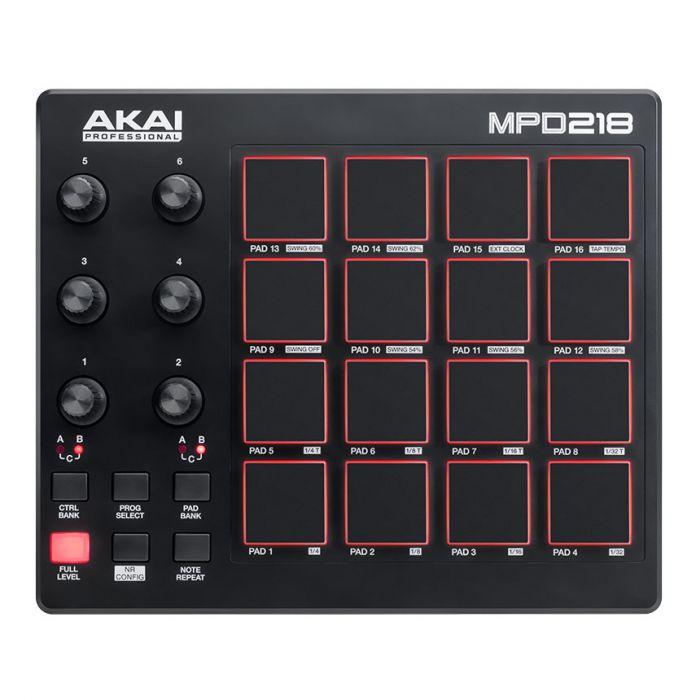 Akai Pro MPD218 MIDI Controller