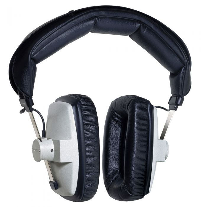 Full view of a Beyerdynamic DT100 Headphone set