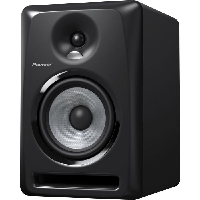 Front view of a Pioneer S-DJ60X Single 6 Inch Active DJ Monitor