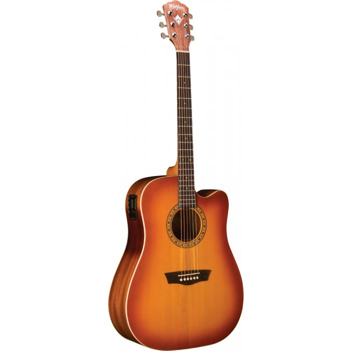 Washburn WD7SCE-ACS Electro-Acoustic Guitar in  Antique Cherry Sunburst