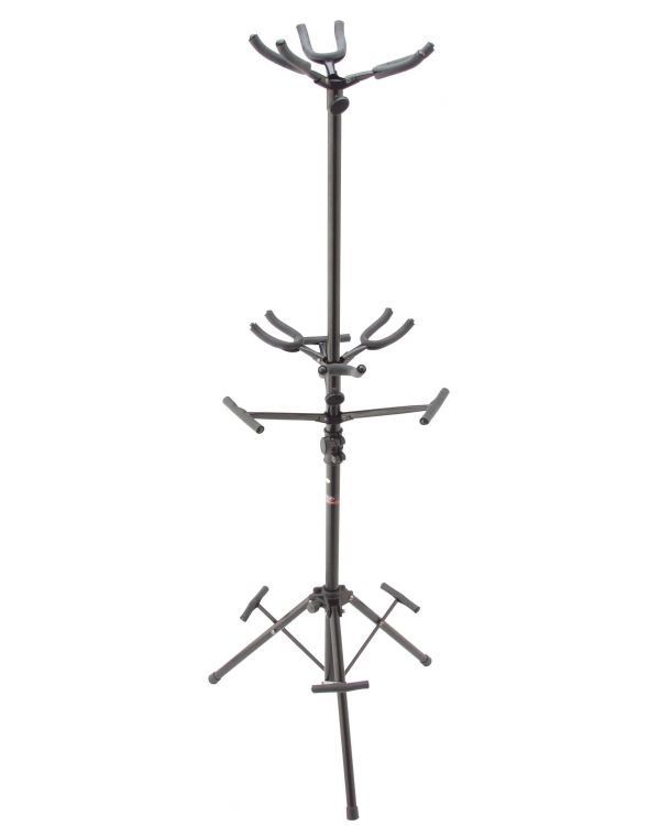Stagg Black Guitar Stand FOR 6 Guitars