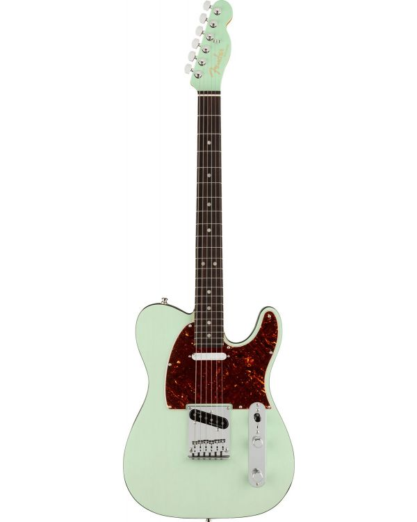 Fender Ultra Luxe Telecaster RW, Transparent Surf Green