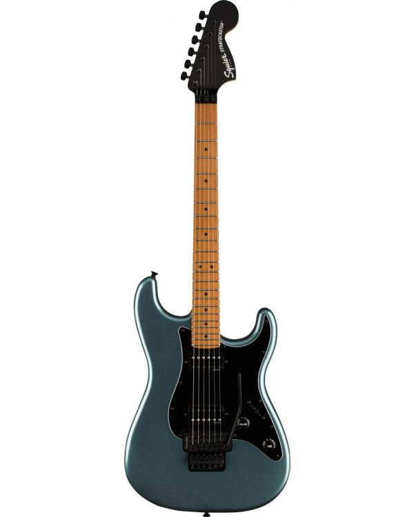 Squier Contemporary Stratocaster HH FR Roasted MN, Gunmetal Metallic