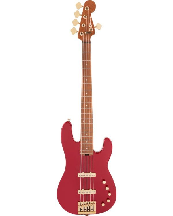 Charvel Pro-Mod San Dimas Bass Guitar JJ V Candy Apple Red