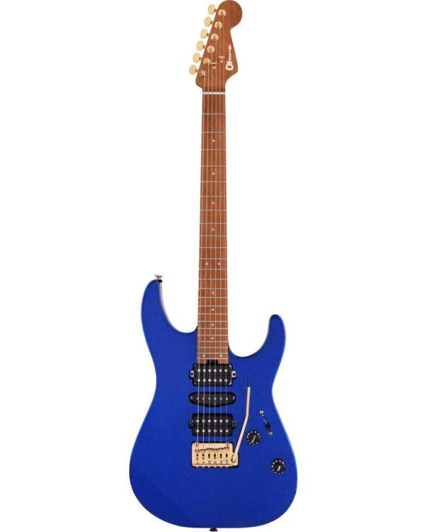 Charvel Pro-Mod DK24 HSH 2PT CM Caramelized MN, Mystic Blue