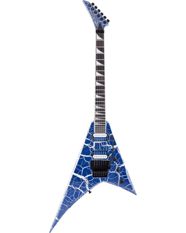 Jackson Pro Rhoads RR24 Ebony FB, Lightning Crackle
