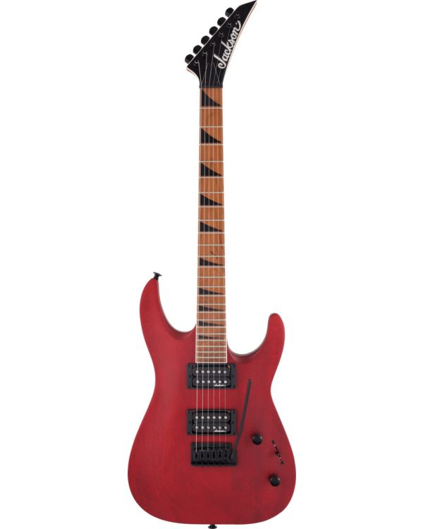 Jackson JS Dinky Arch Top JS24 DKAM Caramelized MN, Red Stain