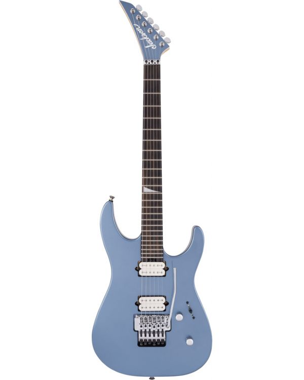 Jackson MJ Dinky DKR Ebony FB, Ice Blue Metallic