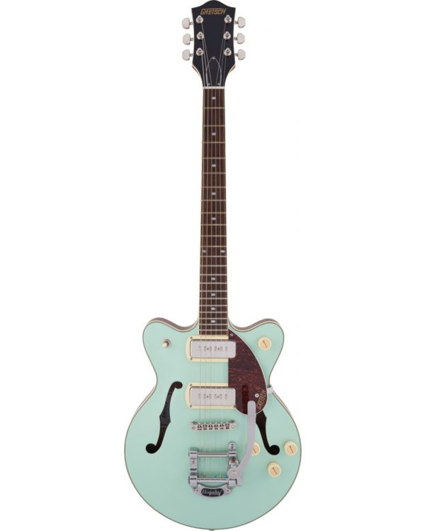 Gretsch G2655T-P90 Streamliner Center Block Jr. Two-Tone Mint Metallic