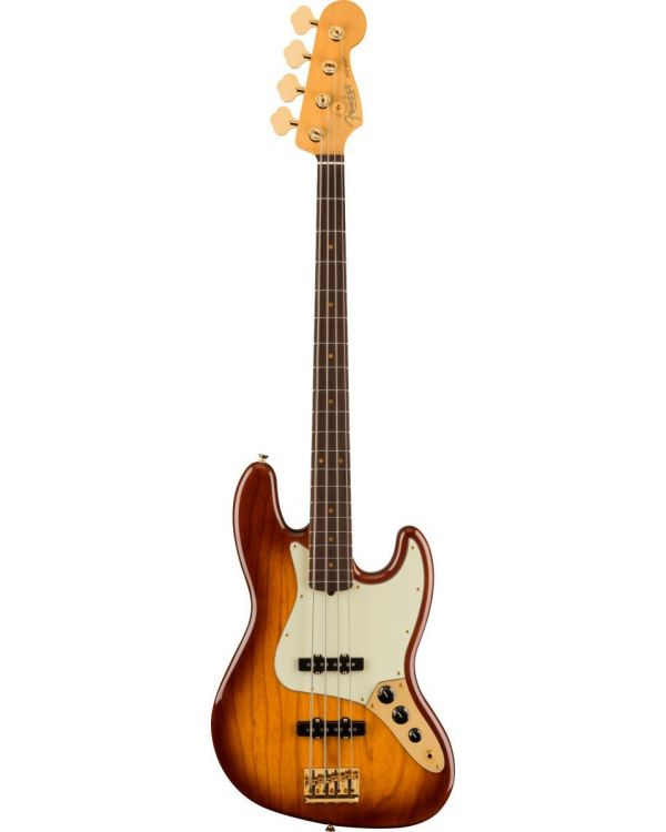 Fender 75th Anniversary Commemorative Jazz Bass 2-Color Bourbon Burst