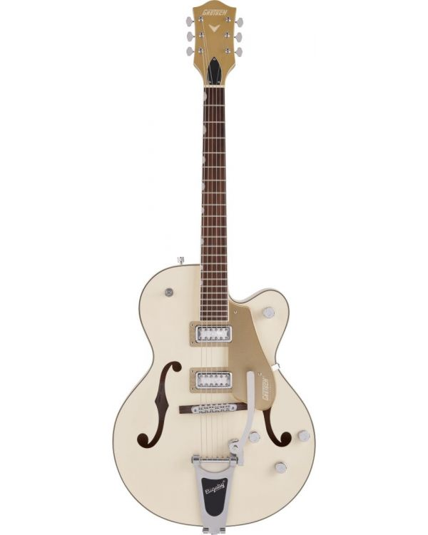 Gretsch Electromatic Ltd G5410T Tri-Five Hollow Body with Bigsby 2-Tone Vintage White on Casino Gold