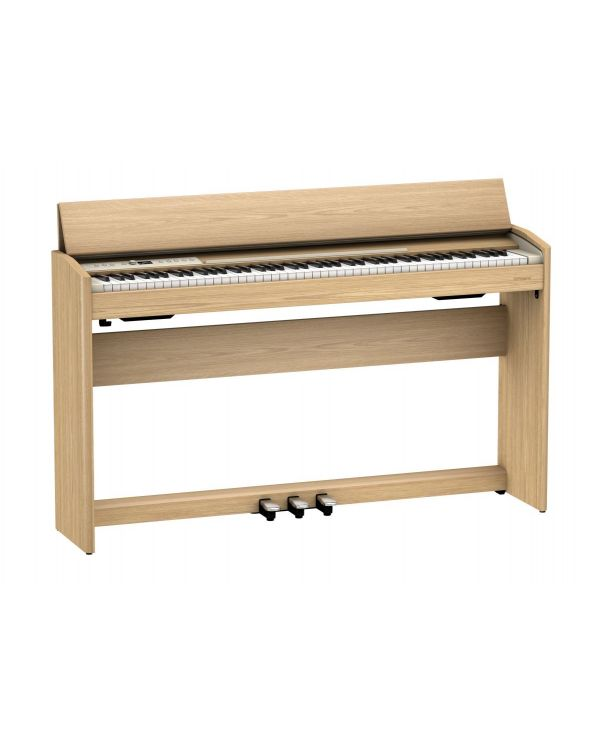 Roland F701 Digital Piano Light Oak