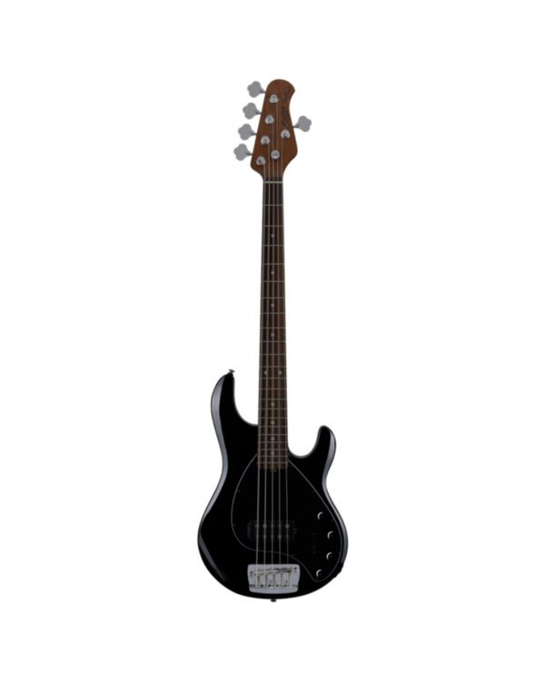 Sterling By Music Man Stingray 5-String Bass, Black RN