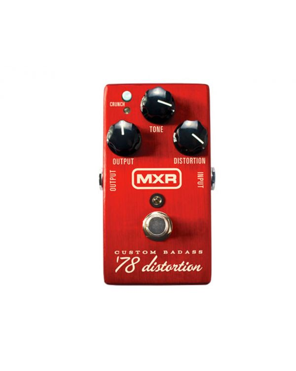 MXR M78 Custom Badass 78 Distortion Guitar Effects Pedal