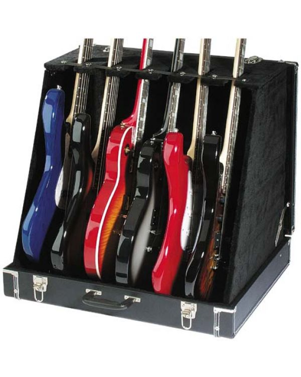 Stagg Guitar Stand Case for 6 Electric or 3 Acoustic
