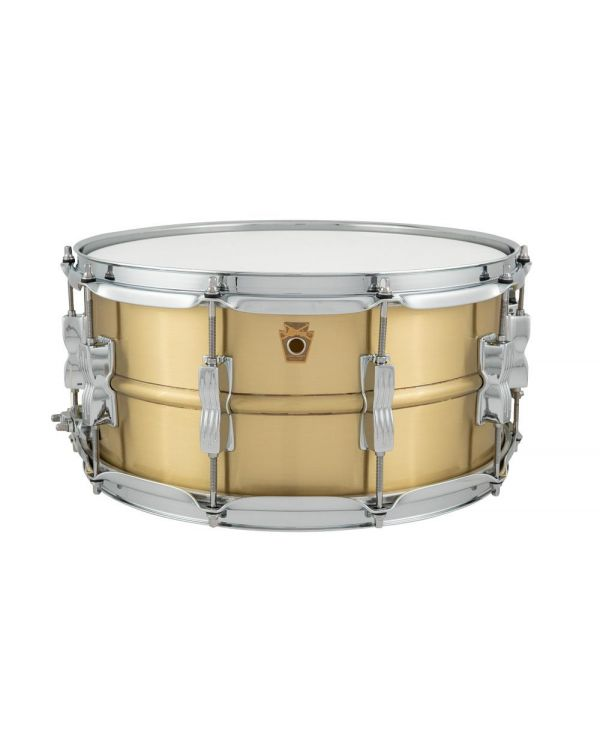 Ludwig Acro Brass Snare Drum