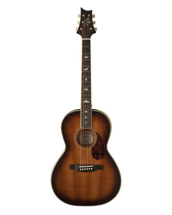 PRS SE Parlor Electro Acoustic Guitar, Tobacco Sunburst