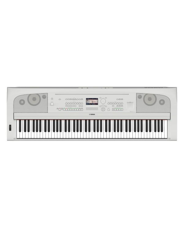 Yamaha DGX-670 Digital Portable Grand Piano in White