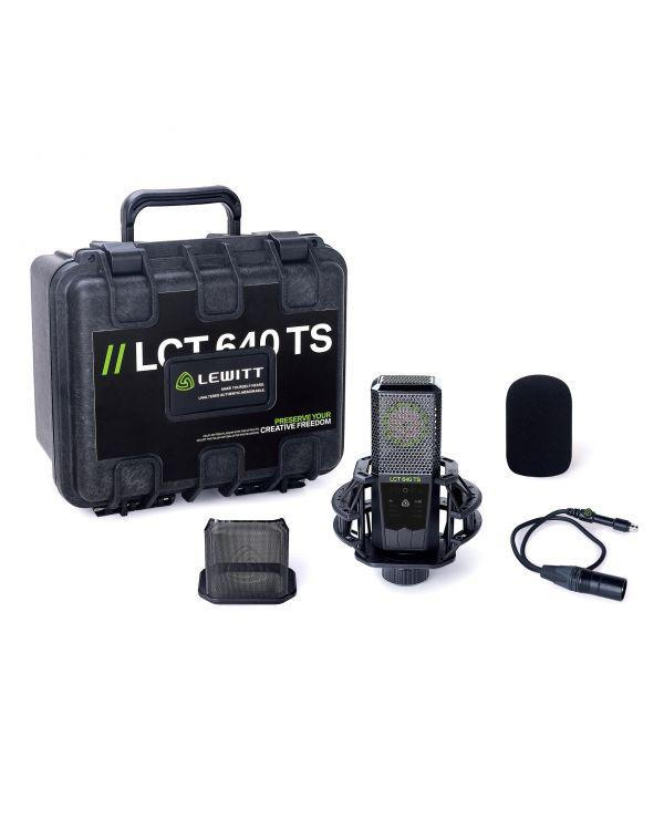 Lewitt LCT 640 TS Multi-pattern Large-diapragm Condenser Microphone
