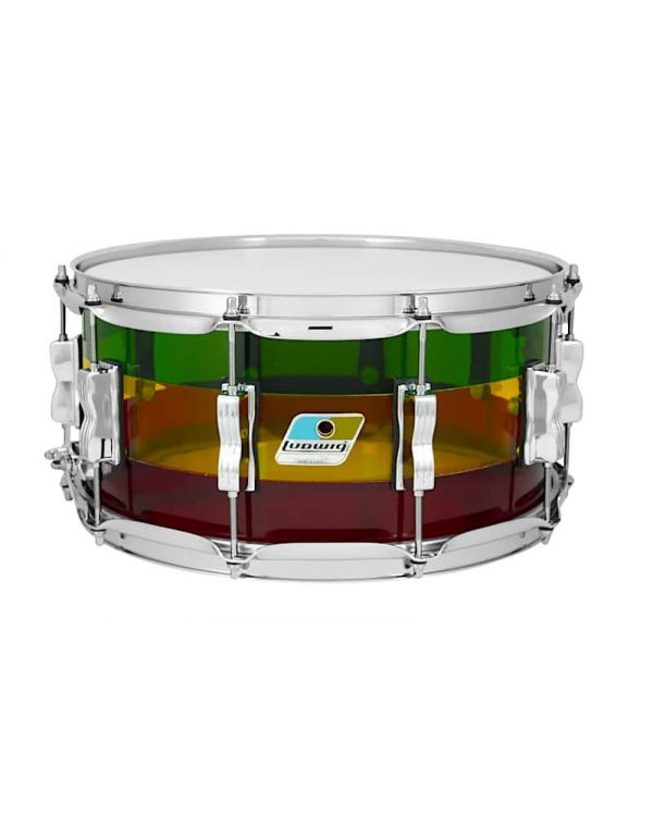 Ludwig Limited Edition Vistalite 14 x 6.5 Snare Drum in Island Sunset