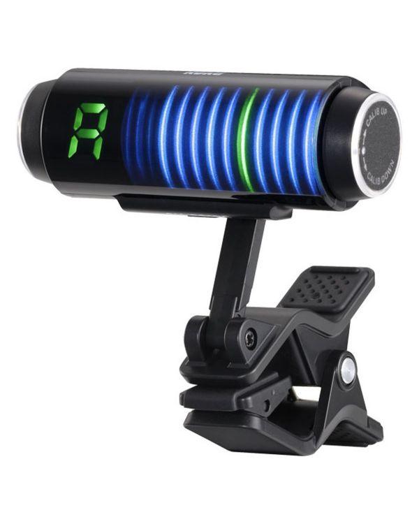 Korg Sledgehammer Custom 100 Clip-on Tuner, Black
