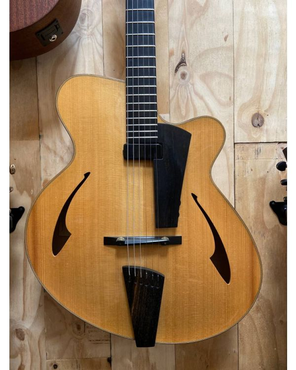 Pre-Loved Eastman PG2 Electric Guitar, Natural Incl. Case