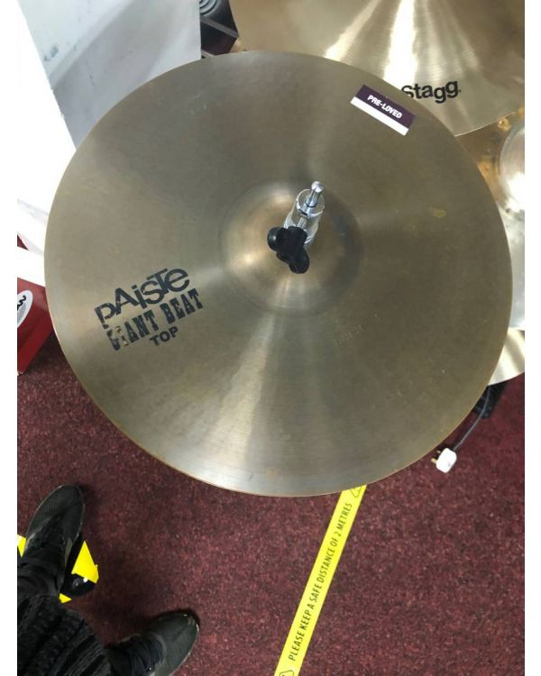 """Pre-loved Paiste Giant Beat 14"""" Hats"""