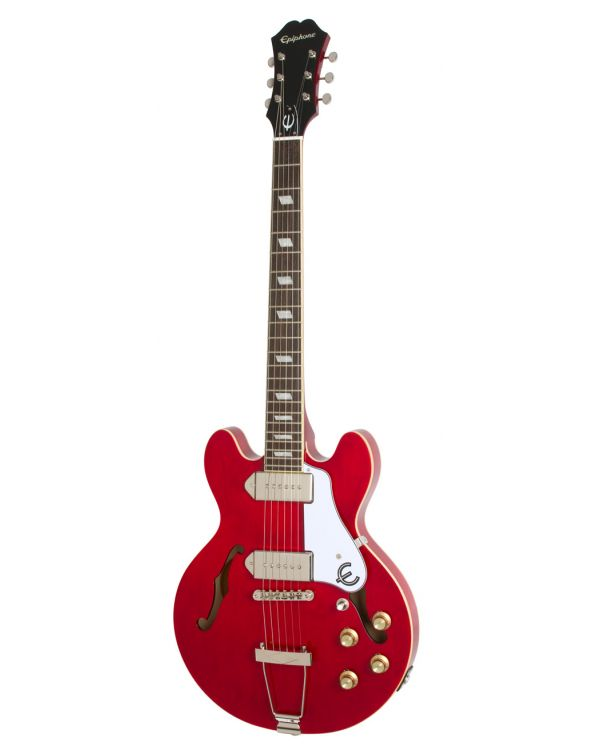 Epiphone Casino Coupe Semi-Acoustic Guitar, Cherry