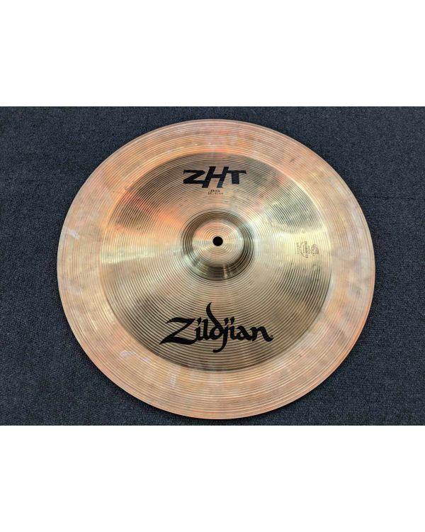 """Pre-Loved Zildjian ZHT 18"""" China Cymbal"""