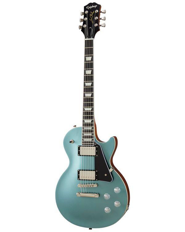 Epiphone Les Paul Modern Guitar, Faded Pelham Blue