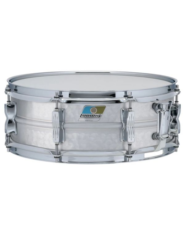 Ludwig LM404K Hammered Acrolite Snare 14x5 inch, Twin Lugs