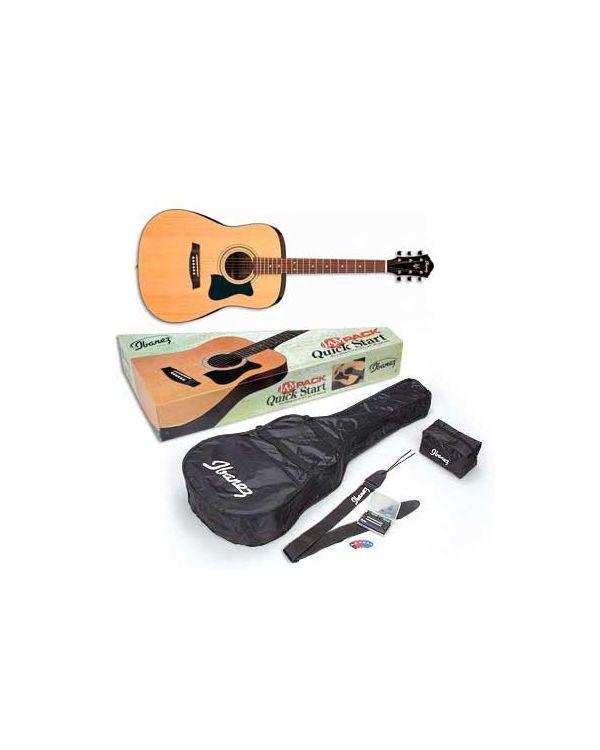 Ibanez Acoustic Guitar Jam Pack Natural