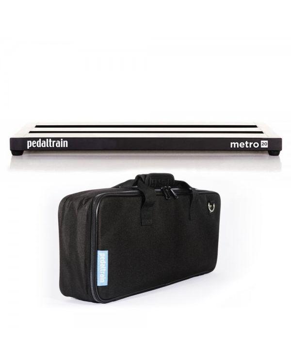 Pedaltrain Metro 20 Pedalboard with Soft Case