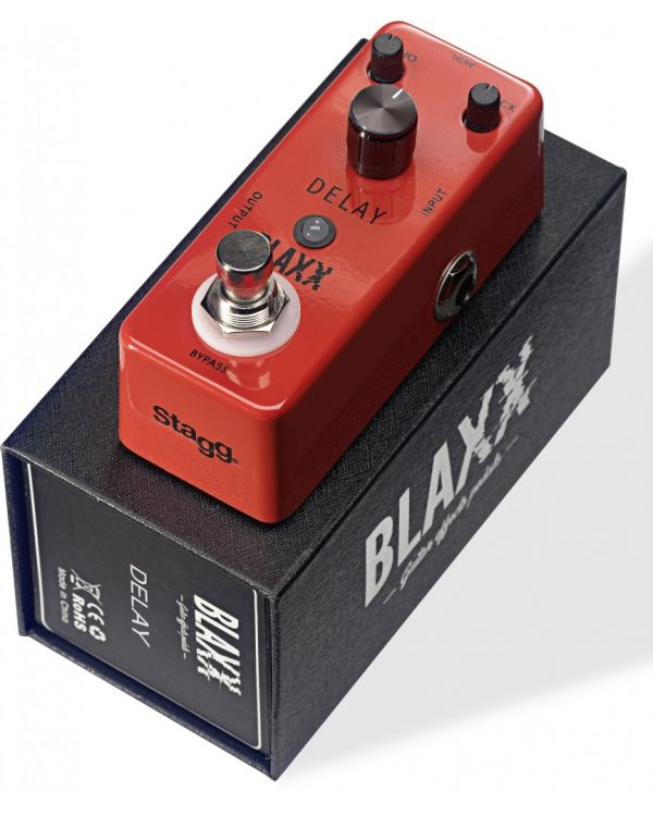 Blaxx Mini Delay Pedal